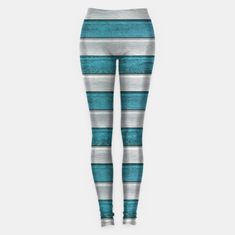 Thumbnail image of Beach Stripes Leggings, Live Heroes