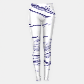 Navy Blue Marble Leggings thumbnail image