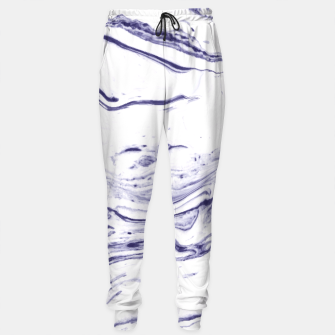 Navy Blue Marble Sweatpants thumbnail image