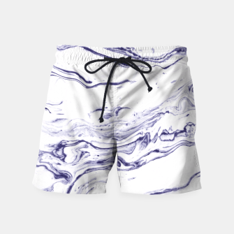 Navy Blue Marble Swim Shorts thumbnail image