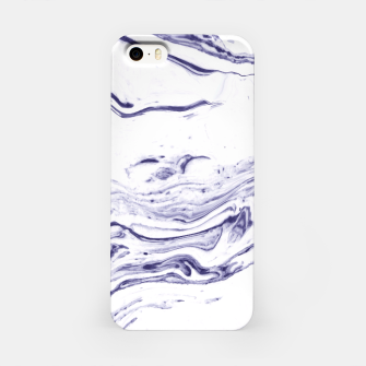 Navy Blue Marble iPhone Case thumbnail image