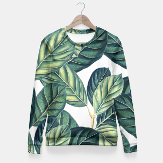 Thumbnail image of Botany Fitted Waist Sweater, Live Heroes