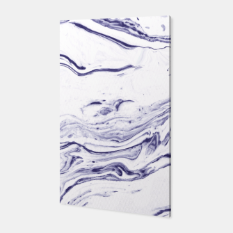 Navy Blue Marble Canvas thumbnail image