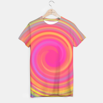 Thumbnail image of Rainbow Swirls T-shirt, Live Heroes