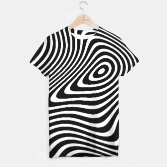 Black and White Mind Warp T-shirt thumbnail image