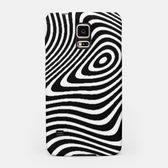 Black and White Mind Warp Samsung Case thumbnail image