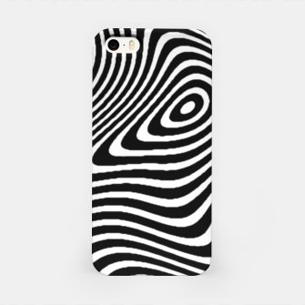 Black and White Mind Warp iPhone Case thumbnail image