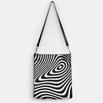 Black and White Mind Warp Handbag thumbnail image