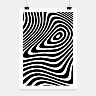 Black and White Mind Warp Poster thumbnail image