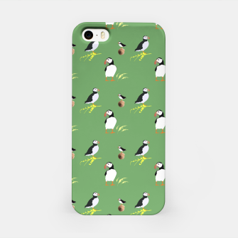 Thumbnail image of Puffins iPhone Case, Live Heroes