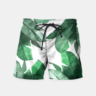 Thumbnail image of Banana Leaf Swim Shorts, Live Heroes