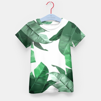 Thumbnail image of Banana Leaf Kid's T-shirt, Live Heroes