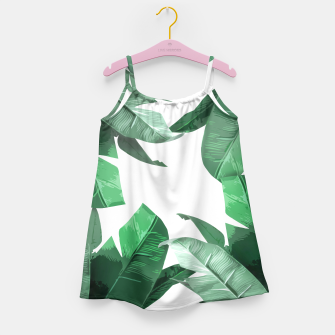 Banana Leaf Girl's Dress thumbnail image