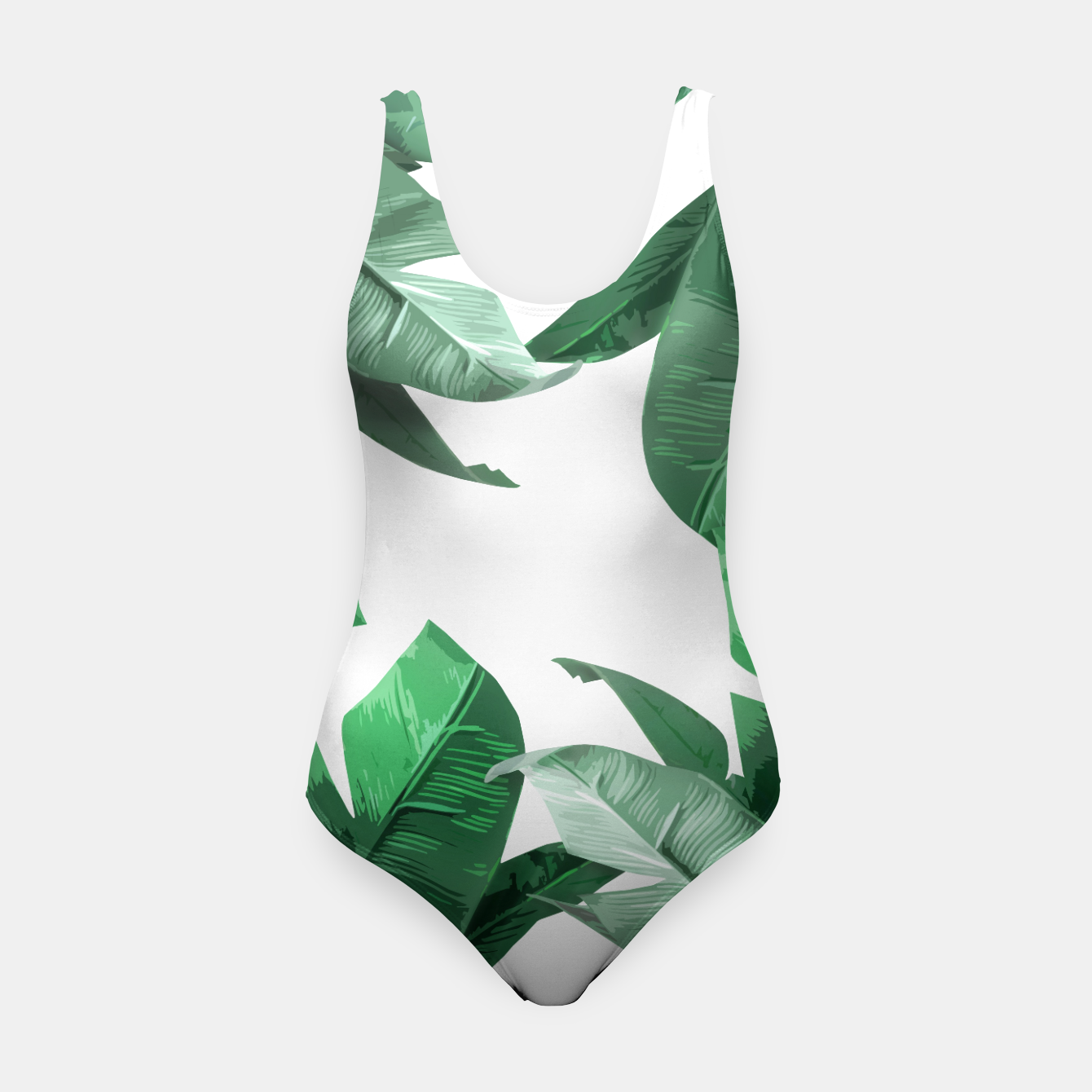 Image of Banana Leaf Swimsuit - Live Heroes