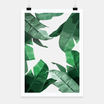 Thumbnail image of Banana Leaf Poster, Live Heroes