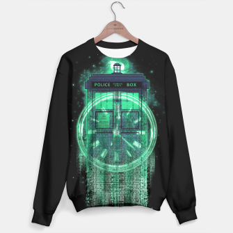 Thumbnail image of Tardis Matrix Sweater, Live Heroes