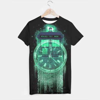 Thumbnail image of Tardis Matrix T-shirt, Live Heroes
