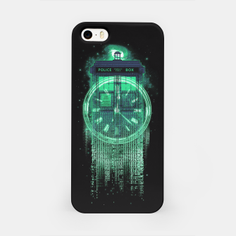 Thumbnail image of Tardis Matrix iPhone Case, Live Heroes