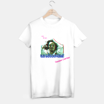Thumbnail image of LE RETRO DESESPERE WHiTE T-shirt regular, Live Heroes