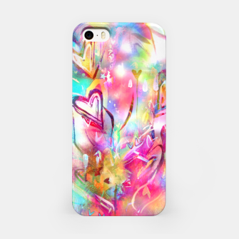 Thumbnail image of Bursting Hearts  iPhone Case, Live Heroes
