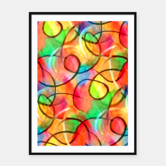 Thumbnail image of Joyful Curls  Framed poster, Live Heroes