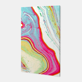 Miniatur Light marbled paper Canvas, Live Heroes