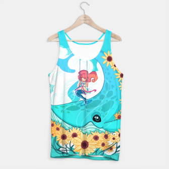 Thumbnail image of Blue Whale Tank Top, Live Heroes