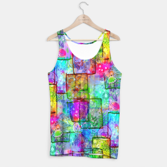 Rainbow Floral Doodle Tank Top thumbnail image