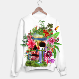 Thumbnail image of Tropical Skull Sweater, Live Heroes
