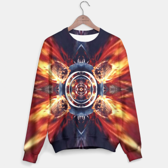 Thumbnail image of ghost ried skulls on fire 3D  Sweater, Live Heroes