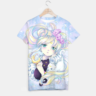Thumbnail image of Moon Flower Tshirt, Live Heroes