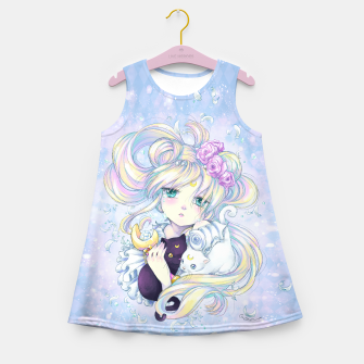 Miniatur Moon Flower Kids Dress, Live Heroes