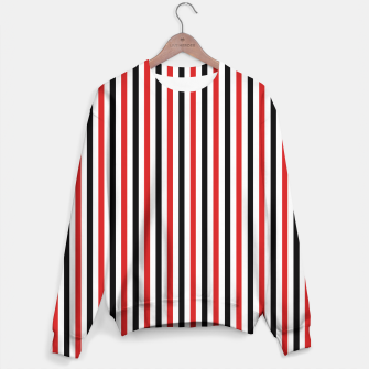 Miniatur Red and Black Stripes Sweater, Live Heroes