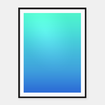 Thumbnail image of Hatsune Miku Gradient 01 Framed poster, Live Heroes
