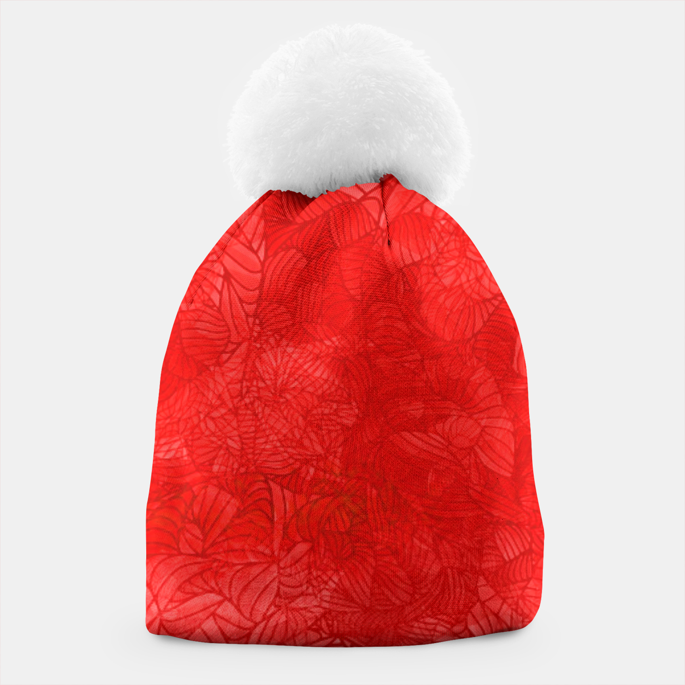 Image of red Beanie - Live Heroes