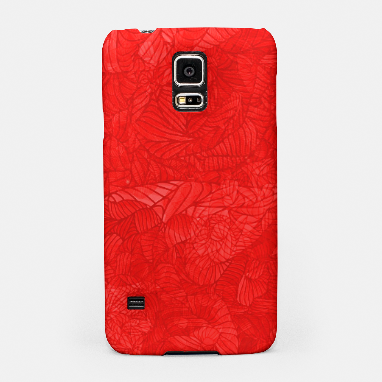 Image of red Samsung Case - Live Heroes