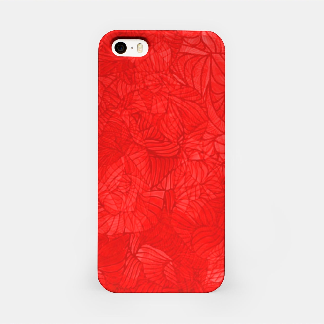 Image of red iPhone Case - Live Heroes