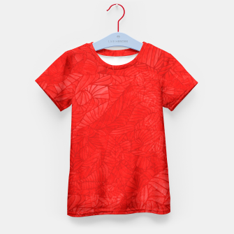 red Kid's T-shirt thumbnail image