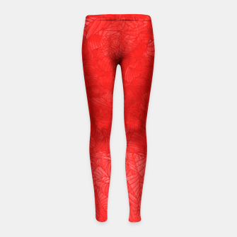 red Girl's Leggings thumbnail image