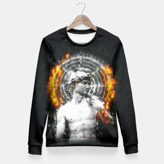 Thumbnail image of DVV1D (Circle of Fire)  Fitted Waist Sweater, Live Heroes