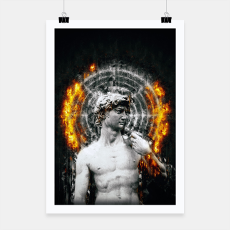Thumbnail image of DVV1D (Circle of Fire)  Poster, Live Heroes
