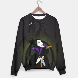 Thumbnail image of Maleficent Sudadera, Live Heroes