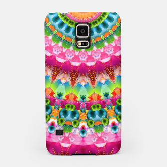 Bubble Gum Candy Kaleidoscope Half Samsung Case thumbnail image