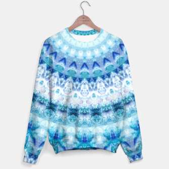 Bouncing Off Of Clouds Kaleidoscope Half  Sweater thumbnail image