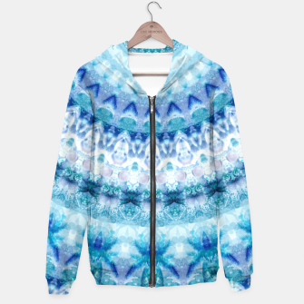 Bouncing Off Of Clouds Kaleidoscope Half  Hoodie thumbnail image