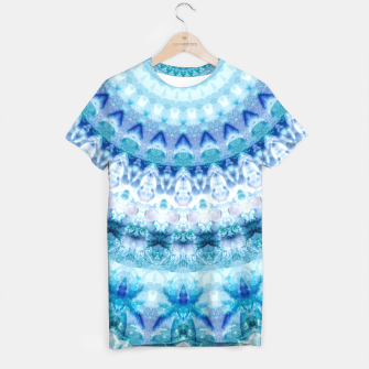 Bouncing Off Of Clouds Kaleidoscope Half  T-shirt thumbnail image