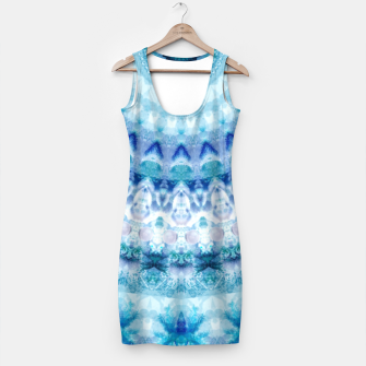 Bouncing Off Of Clouds Kaleidoscope Half  Simple Dress thumbnail image