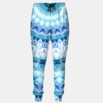 Bouncing Off Of Clouds Kaleidoscope Half  Sweatpants thumbnail image
