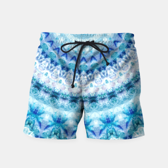 Bouncing Off Of Clouds Kaleidoscope Half  Swim Shorts thumbnail image