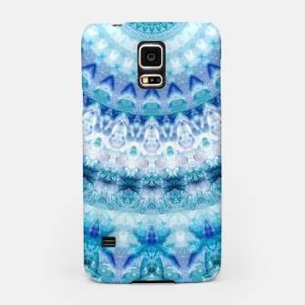 Bouncing Off Of Clouds Kaleidoscope Half  Samsung Case thumbnail image